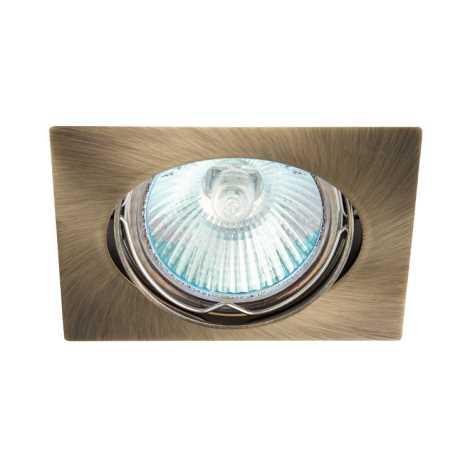 Mennyezeti lámpa IZZY DT10 1xMR16/50W Sárgaréz - GXPL033