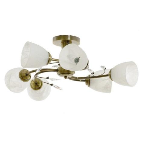 Mennyezeti lámpa LEARA 6xE14/40W/230V
