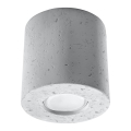 Mennyezeti lámpa ORBIS 1xGU10/40W/230V beton