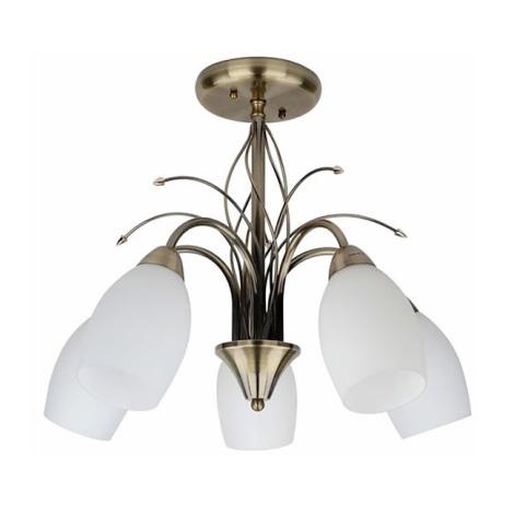 Mennyezeti lámpa SIERRA 5xE14/40W/230V