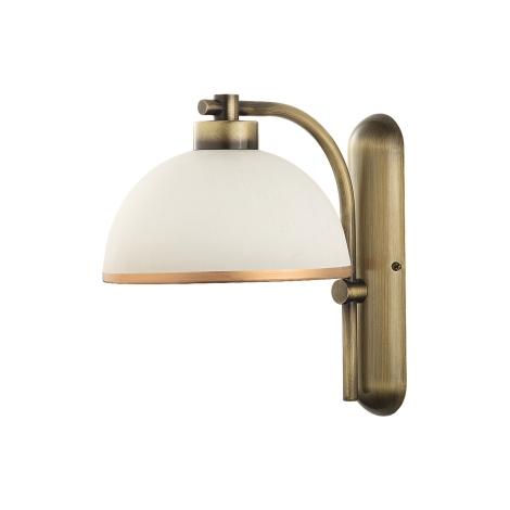 MONTANA fali lámpa 1xE27/60W sárgaréz/patinás