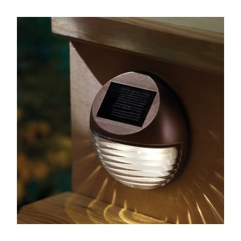 Napelemes LED lámpa 2xLED/0,12W/2xAA 6500 K