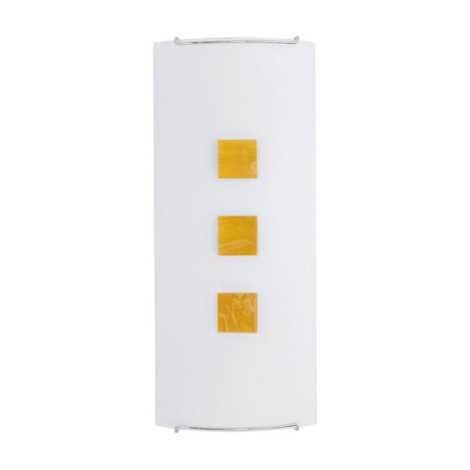 Nowodvorski NW1608 - KUBIK 2 YELLOW fali lámpa 2xE14/60W