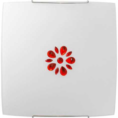 Nowodvorski NW3042 - KUKU 7 RED fali lámpa 1xE27/100W