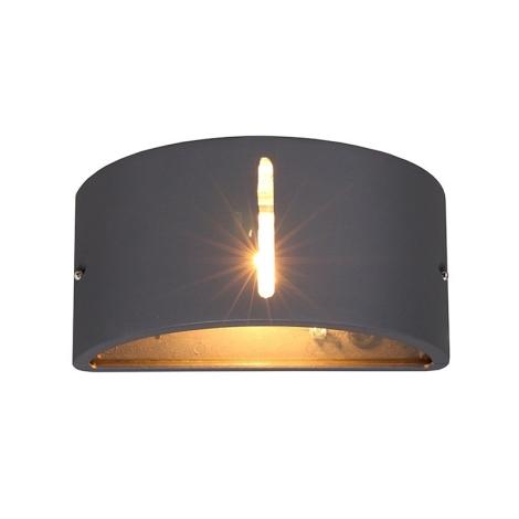 Nowodvorski NW4388 - Kültéri fali lámpa KONGO I 1xE27/20W/230V
