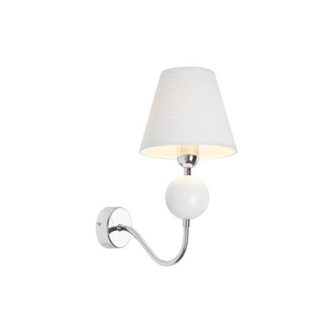 Nowodvorski NW4515 - NATHALIE WHITE I K fali lámpa 1xE14/60W