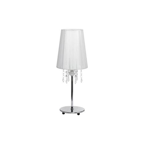 Nowodvorski NW5263 - MODENA WHITE I B asztali lámpa 1xE14/40W