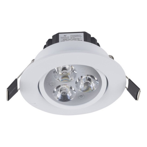 Nowodvorski NW5957 - LED süllyesztett lámpa CEILING LED LED SMD/3W/230V