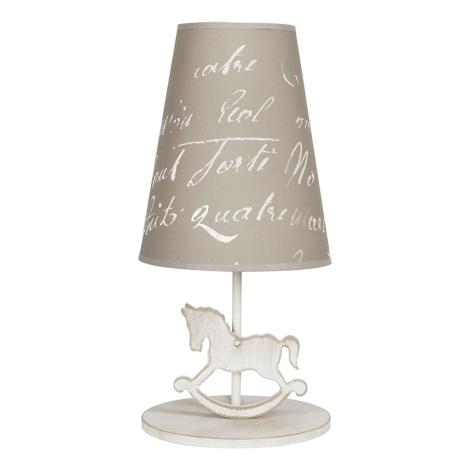 Nowodvorski NW6377 - Asztali lámpa PONY 1xE27/40W/230V