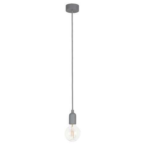 Nowodvorski NW6398 - Függesztékes mennyezeti lámpa SILICONE 1xE27/60W/230V