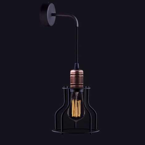 Nowodvorski NW6606 - Fali lámpa WORKSHOP 1xE27/60W/230V