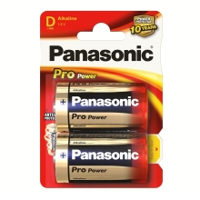 Panasonic LR20 PPG - 2db alkáli elem D Pro Power Gold 1,5V