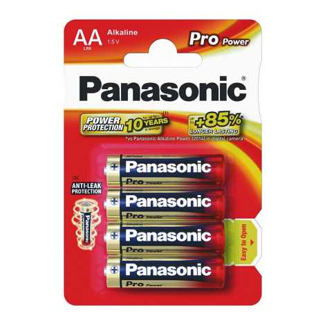 Panasonic LR6 PPG - 4db alkáli elem AA Pro Power Gold  1,5V
