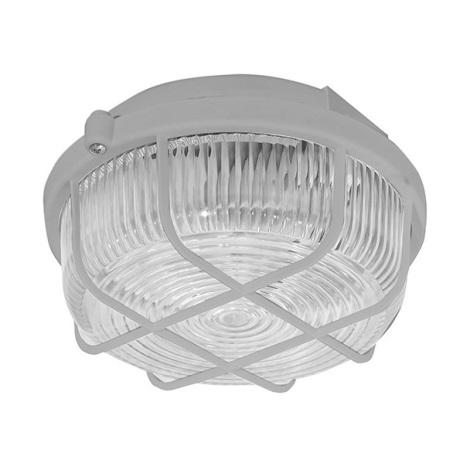 Panlux SKP-100/S - Kültéri mennyezeti lámpa KÖR 1xE27/100W/230V