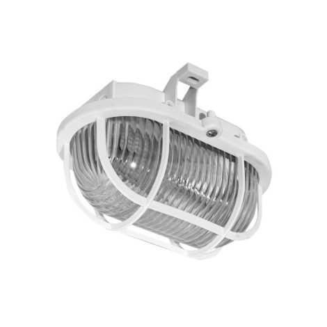 Panlux SOP-60/B - Kültéri mennyezeti lámpa OVAL 1XE27/60W/230V