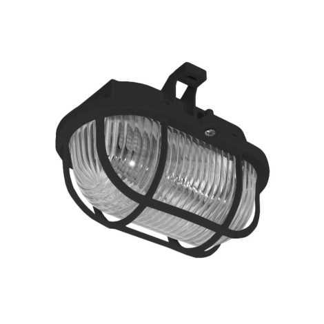 Panlux SOP-60/C - Kültéri mennyezeti lámpa OVAL 1XE27/60W/230V