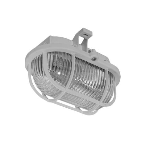 Panlux SOP-60/S - Kültéri mennyezeti lámpa OVAL 1XE27/60W/230V
