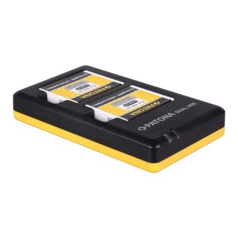 PATONA - Töltő Foto Dual Quick Canon NB-6L USB