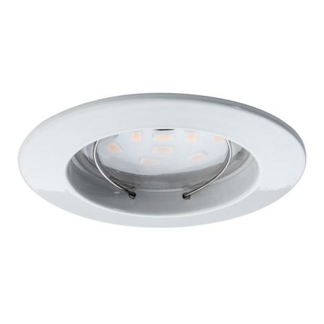 Paulmann 92754 - 1xLED/6,8W Fürdőszobai beépíthető lámpa COIN 230V