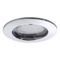 Paulmann 92758 - LED Fürdőszobai beépíthető lámpa COIN 1xLED/6,8W/230V IP44