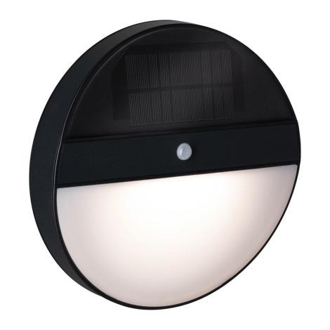 Paulmann 94264 - LED/1W IP44 Kültéri szolár lámpa érzékelővel ELOISE 3,7V