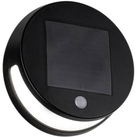 Paulmann 94265 - LED/3W IP44 Kültéri szolár lámpa érzékelővel HELENA 3,7V