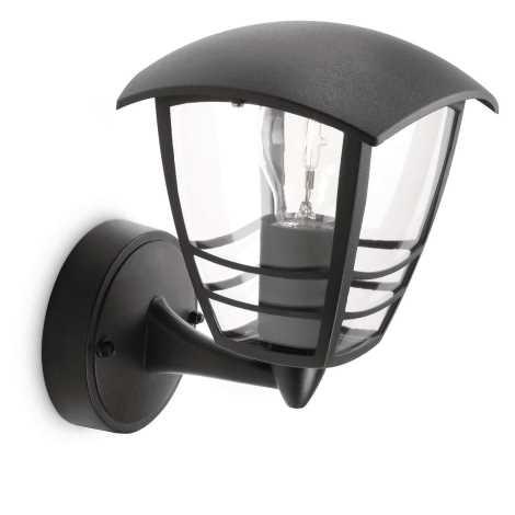Philips 15380/30/16 - Kültéri fali lámpa MYGARDEN CREEK 1xE27/60W/230V