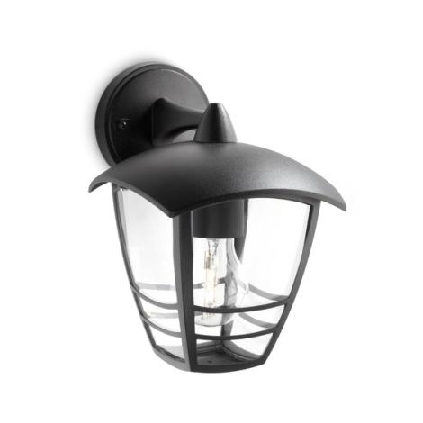 Philips 15381/30/16 - Kültéri fali lámpa MYGARDEN CREEK 1xE27/60W/230V