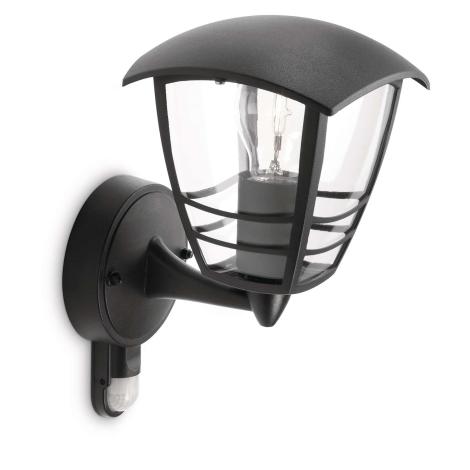 Philips 15388/30/16 - Kültéri fali lámpa MYGARDEN CREED 1xE27/60W/230V