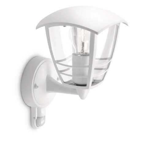 Philips 15388/31/16 - Kültéri fali lámpa a mozgásérzékelős MYGARDEN CREEK 1xE27/60W/230V