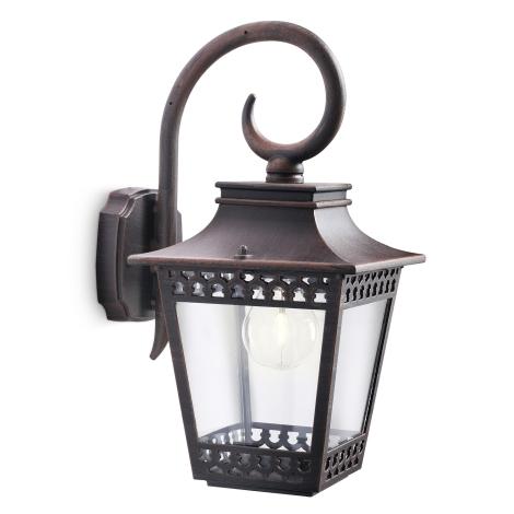 Philips 15401/86/16 - Kültéri fali lámpa MYGARDEN HEDGE 1xE27/53W/230V