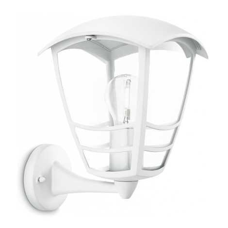 Philips 15460/31/16 - Kültéri fali lámpa STREAM 1xE27/60W/230V