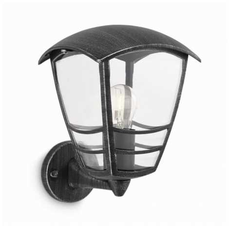 Philips 15460/54/16 - Kültéri fali lámpa STREAM 1xE27/60W/230V