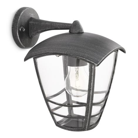 Philips 15461/54/16 - Kültéri fali lámpa MYGARDEN STREAM 1xE27/60W/230V