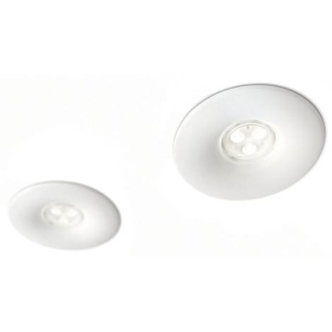 Philips 16811/31/16 - KÉSZLET 2x LED Fürdőszobai mennyezeti lámpa LEDINO LED/7,5W/230V