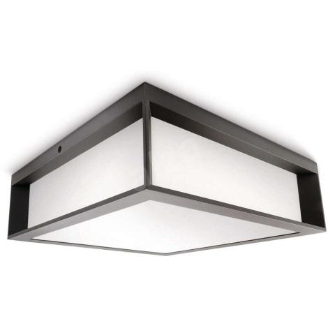 Philips 17184/93/16 - Kültéri mennyezeti lámpa MYGARDEN SKIES 2xE27/14W/230V