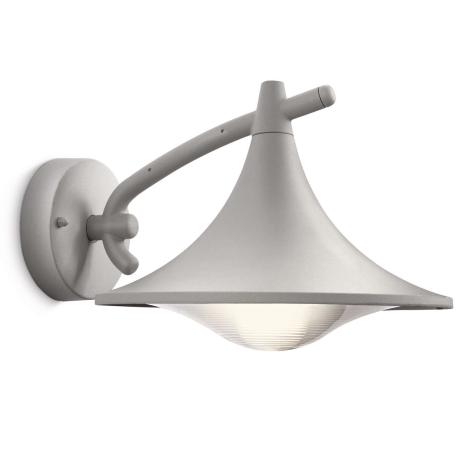 Philips 17207/87/16 - Kültéri fali lámpa MYGARDEN CEDAR 1xE27/15W/230V