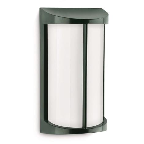 Philips 17229/88/16 - Kültéri fali lámpa MYGARDEN POND 1xE27/23W/230V zöld
