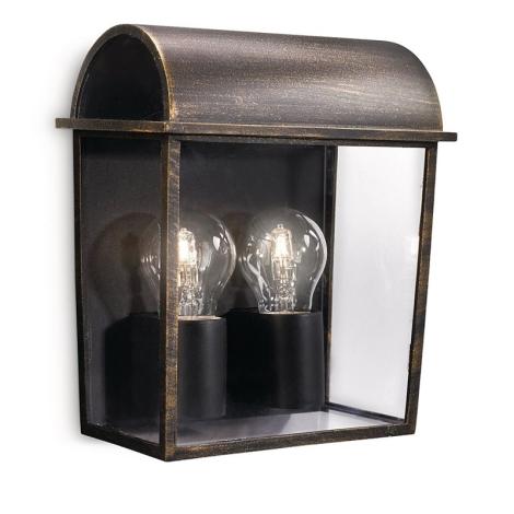 Philips 17235/42/16 - Kültéri fali lámpa MYGARDEN HARVEST 2xE27/42W/230V