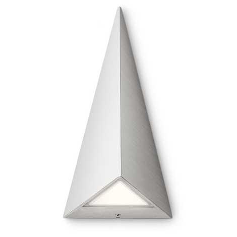 Philips 17247/47/16 - LED-es kültéri fali lámpa MYGARDEN HILLS 2xLED/2,5W/230V fehér