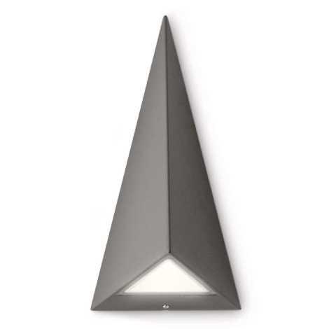 Philips 17247/93/16 - LED-es kültéri fali lámpa MYGARDEN HILLS 2xLED/2,5W fekete