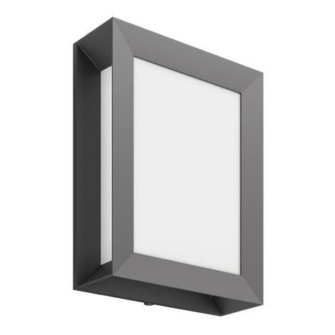 Philips 17293/93/P3 - Kültéri fali lámpa MYGARDEN KARP 1xLED/6W/230V