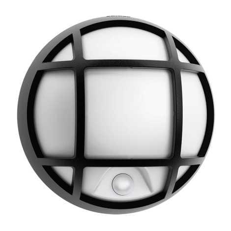 Philips 17319/30/16 - LED Érzékelős kültéri fali lámpa EAGLE 1xLED/3W/230V
