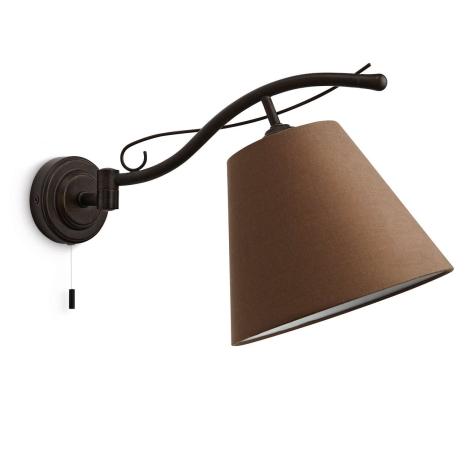 Philips 37672/86/16 - Fali lámpa ELMORE 1xE14/42W/230V