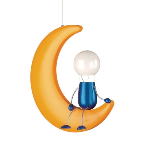 Philips 40092/34/16 - Gyermek mennyezeti lámpa  MYKIDSROOM LUNARDO 1xE27/12W/230V - II. minőség