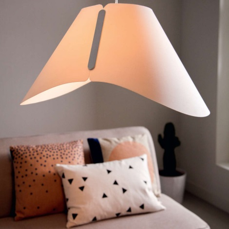 Philips 40950/31/PN - Mennyezeti függesztékes lámpa MYLIVING ECRU E27/60W/230V