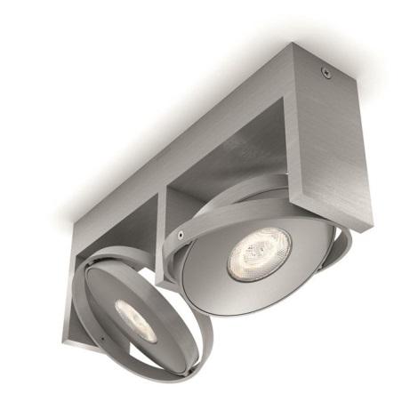 Philips 53152/48/P0 - LED Spotlámpa PARTICON 2xLED/4,5W/230V