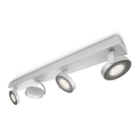 Philips 53174/48/16 - LED Szabályozható spotlámpa CLOCKWORK 4xLED/4W/230V