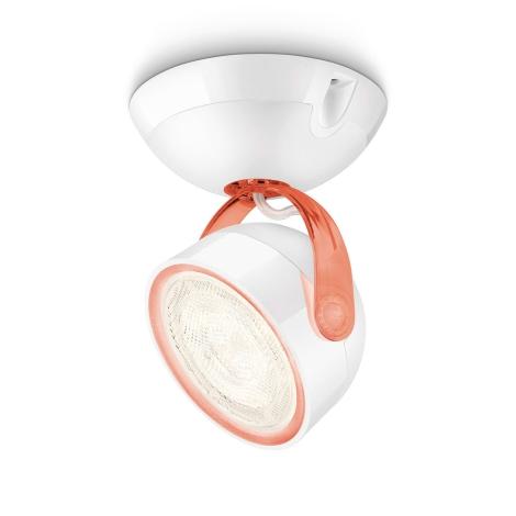 Philips 53230/32/16 - LED Spot lámpa MYLIVING DYNA 1xLED/4W/230V piros