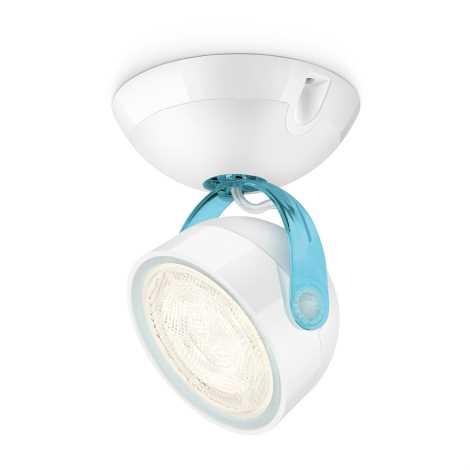 Philips 53230/35/16 - LED spotlámpa MYLIVING DYNA 1xLED/4W/230V kék